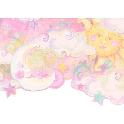 4 Walls Whimsical Children's Vol. 1 Celestial Border in Pink