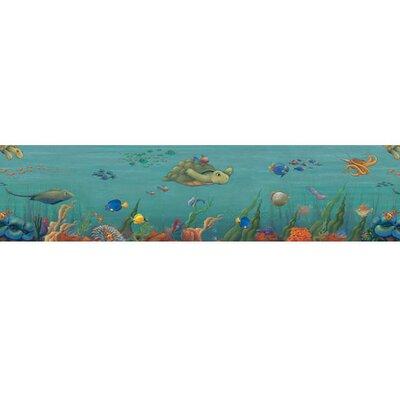4 Walls Undersea Free Style Wallpaper Border