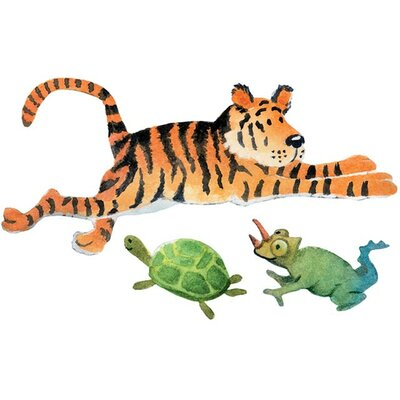 4 Walls Safari Friends Wall Decal