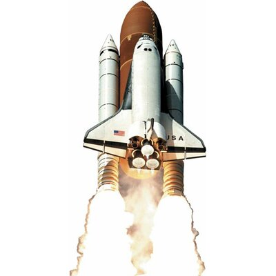4 Walls Space Shuttle Wall Decal