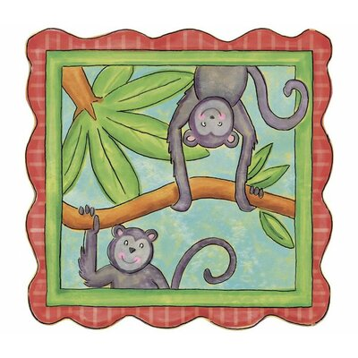 4 Walls Monkey Panel Wall Decal