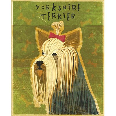 4 Walls Top Dog Yorkshire Terrier Wall Decal