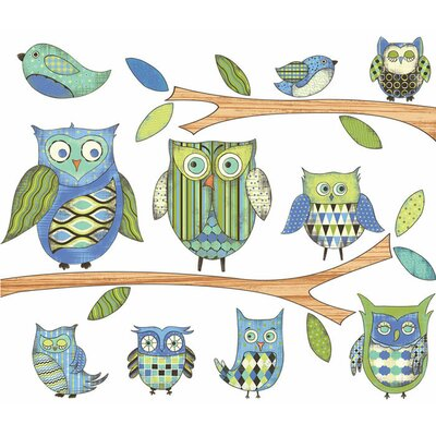 4 Walls Owls Wall Decal