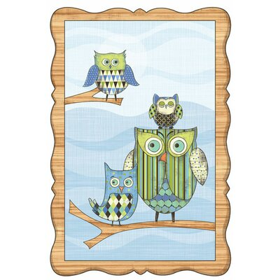 4 Walls Owl Wall Decal