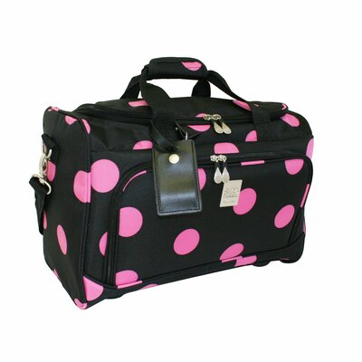 "Jenni Chan Dots 12"" City Travel Duffel"