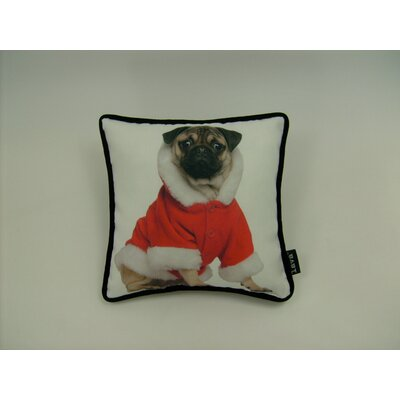lava Lava Holiday Pug Pillow