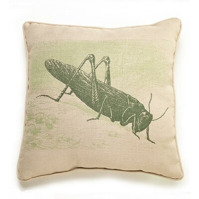 lava Lava Grasshopper Etching Pillow
