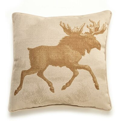 lava Lava Moose Etching Pillow