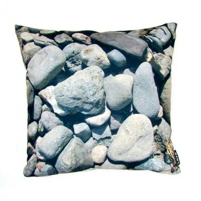 lava Stones Feather Filled Pillow