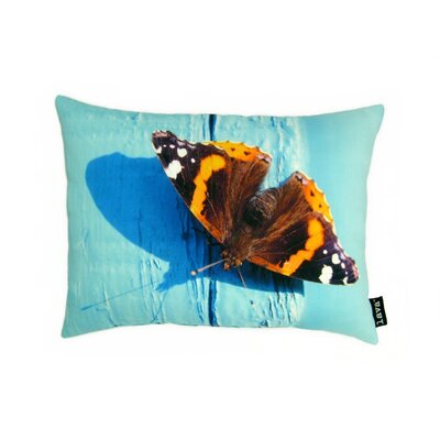 lava Butterfly Polyester Pillow