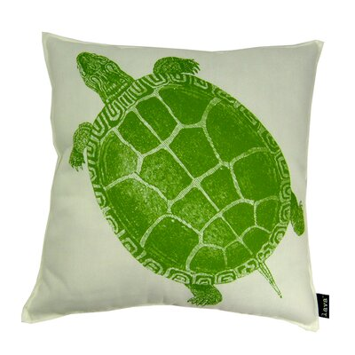 lava Turtle Polyester Pillow