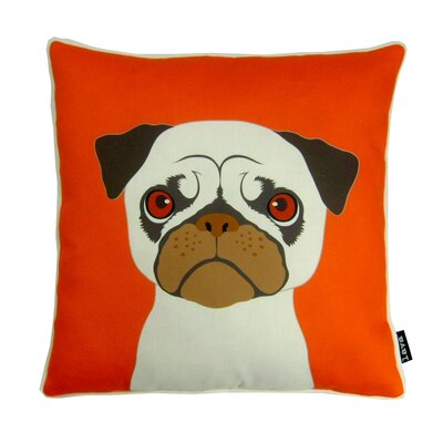 lava Pug Polyester Pillow