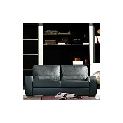 Hokku Designs Cardiff Leather Sofa