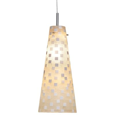 Mosaic Small Fry 1 Light Line Voltage Pendant