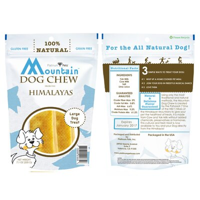 Platinum Pets Mountain Dog Chew from the Himalayas (200 Grams) (Set of 2)