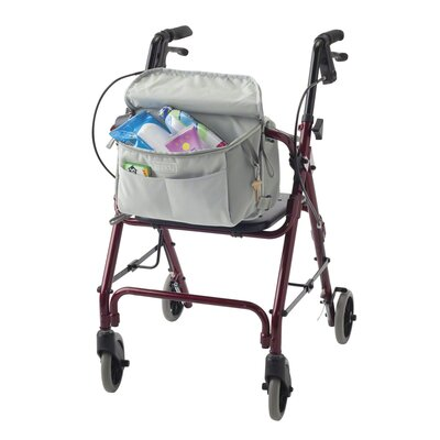Classic Accessories Zippidy Deluxe Walker Organizer in Pearl Grey and Pewter