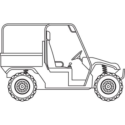 Classic Accessories Quadgear UTV Storage Cover