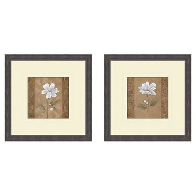 <strong>Pro Tour Memorabilia</strong> Floral Spring Ahead 2 Piece Framed Art Set