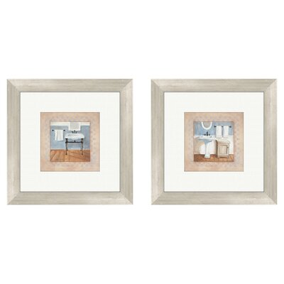 <strong>Pro Tour Memorabilia</strong> Bath Country Bath Framed Art (Set of 2)