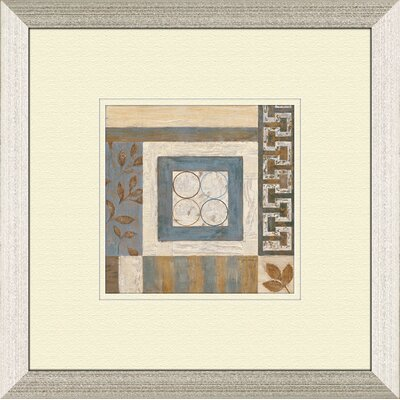 Pro Tour Memorabilia Abstract Plan B Framed Art