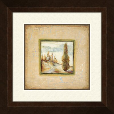Pro Tour Memorabilia Summer Light B Framed Painting Print