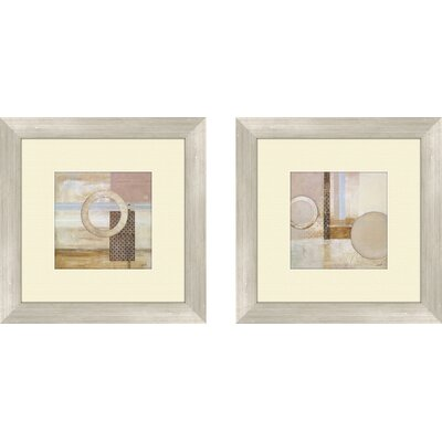 Contemporary Dream Decoder 2 Piece Framed Painting Print Set