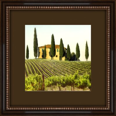 Tuscan View Framed Wall Art (Set of 2)