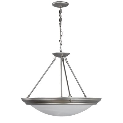 AFX Duomo 4 Light Inverted Pendant