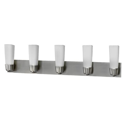 AFX Delta 5 Light Bath Vanity Light