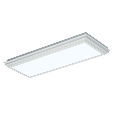 AFX Crown Molding Fluorescent Flush Mount