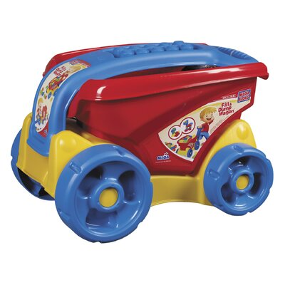 Mega Brands Mega Bloks Fill and Dump Wagon