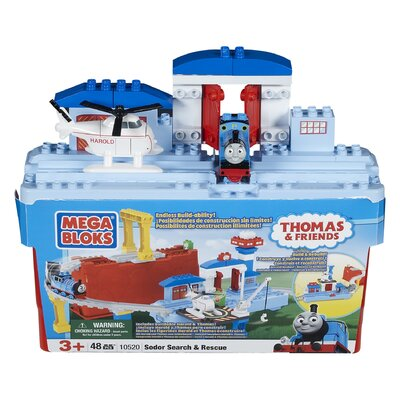 Mega Bloks Large Thomas Bucket-Sodor Search and Rescue