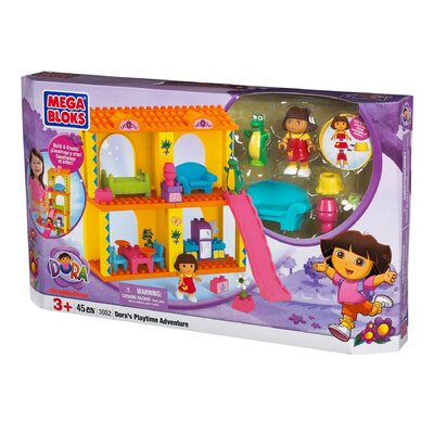 Mega Brands Nickelodeon Dora the Explorer Playtime Adventure