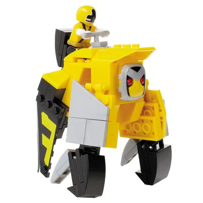 Mega Brands Power Rangers Samurai - Yellow Ape Folding Zord