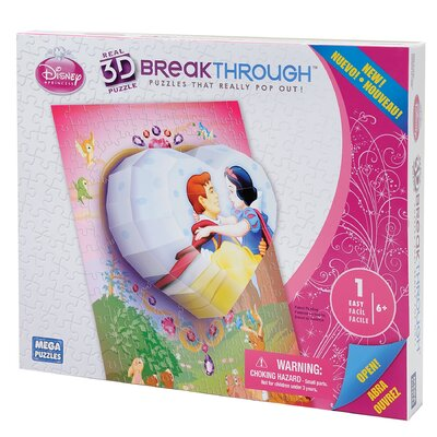 100 Piece 3D Breakthrough Princess Heart Puzzle