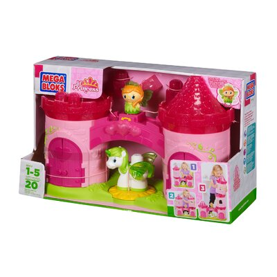 Mega Brands Lil' Princess 3-Story Enchanted Castle