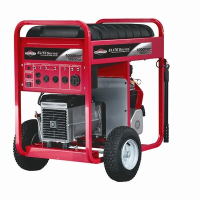 Elite Series 10,000 Watt Electric Start Portable Gas Generator - 30207