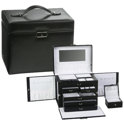 Milan Black Jewelry Case