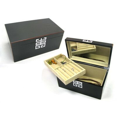 Black Glossy Jewelry Box