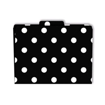 Barker Creek & Lasting Lessons File Folders Black & White Dots
