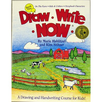 Barker Creek & Lasting Lessons Draw Write Now Book 1 Farm Kids &