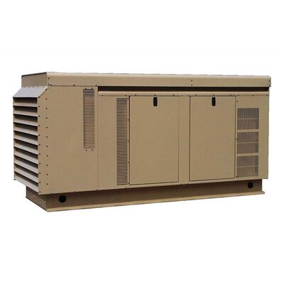90 Kw Single Phase 120/240 V Natural Gas and Propane Double Fuel Standby Generator - ...