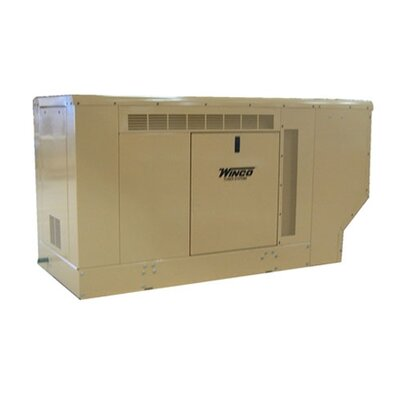 25 Kw Three Phase 277/480 V Natural Gas and Propane Double Fuel Standby Generator - ...