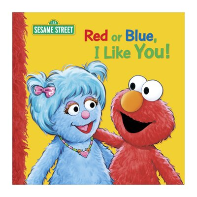 Candlewick Press Red Or Blue I Like You Big book