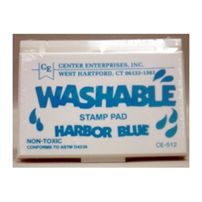 Center Enterprises Inc Stamp Pad Washable Harbor Blue