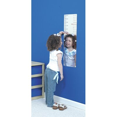 "The Children's Factory 30.5"" H x 12"" W Measure Me Mirror"