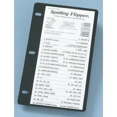 Christopher Lee Publications Spelling Flip Up Study Guide