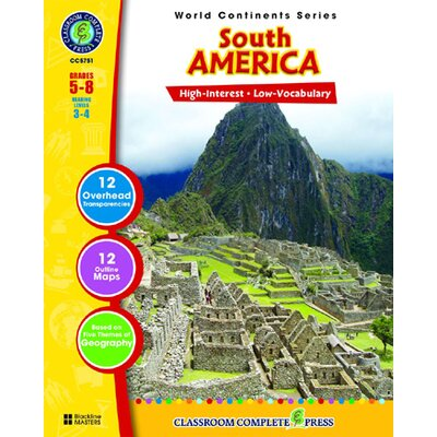 Classroom Complete Press World Continents Series South