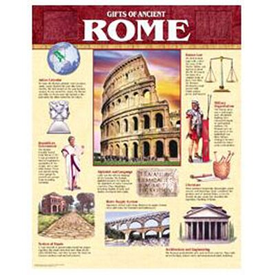 Creative Teaching Press Ancient Rome Chart