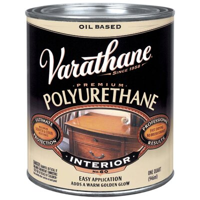 Varathane 1 Quart Oil Based Satin Polyurethane 242177